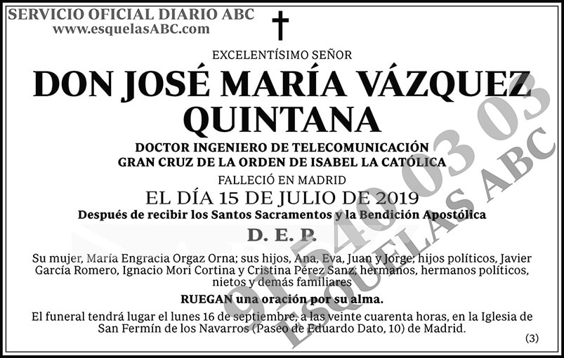 José María Vázquez Quintana
