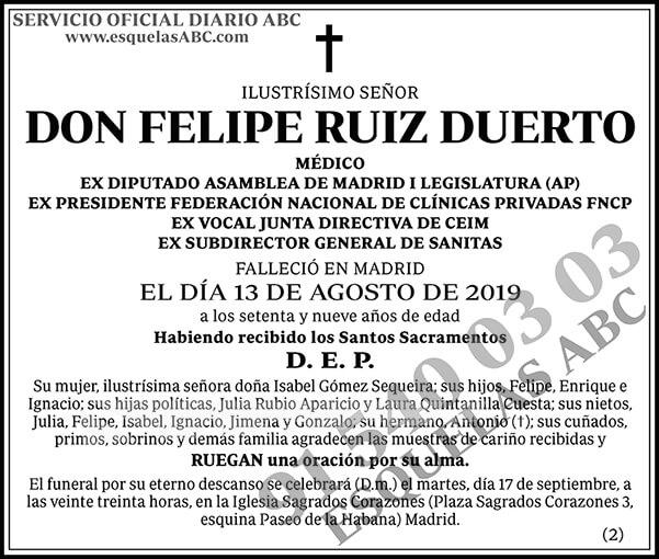 Felipe Ruiz Duerto