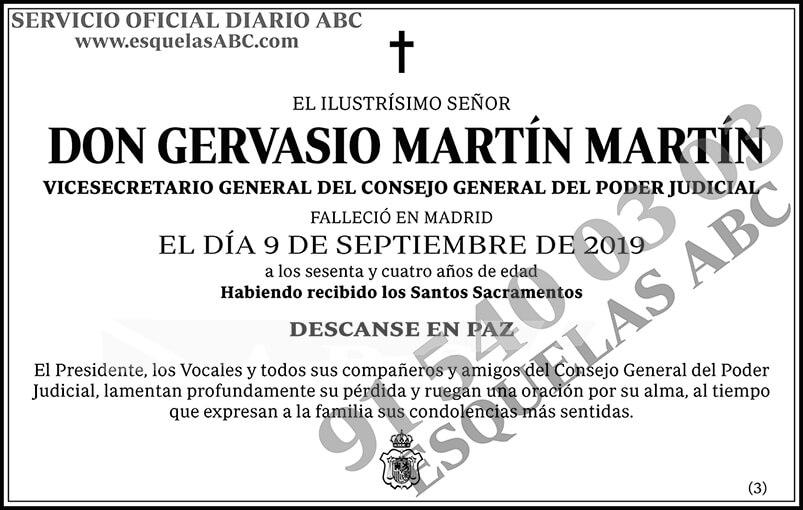 Gervasio Martín Martín