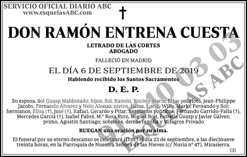 Ramón Entrena Cuesta