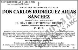 Carlos Rodríguez-Arias Sánchez