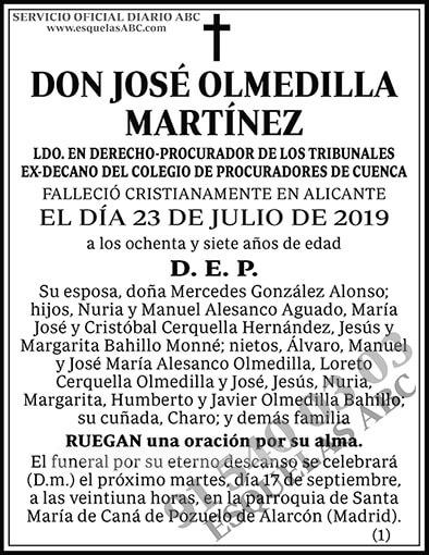 José Olmedilla Martínez