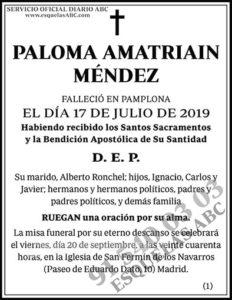 Paloma Amatriain Méndez