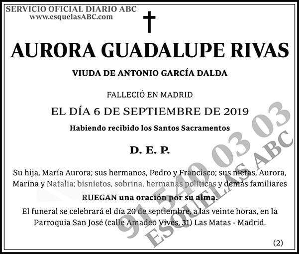 Aurora Guadalupe Rivas