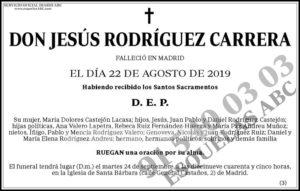 Jesús Rodríguez Carrera