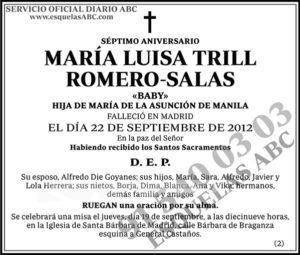 María Luisa Trill Romero-Salas