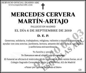 Mercedes Cervera Martín-Artajo