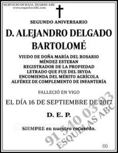 Alejandro Delgado Bartolomé