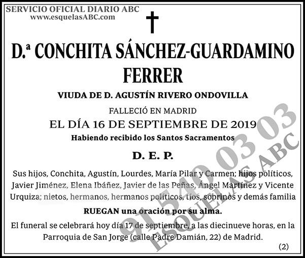 Conchita Sánchez-Guardamino Ferrer
