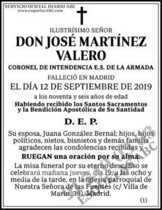 José Martínez Valero