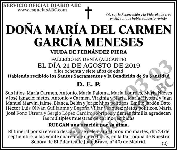 María del Carmen García Meneses