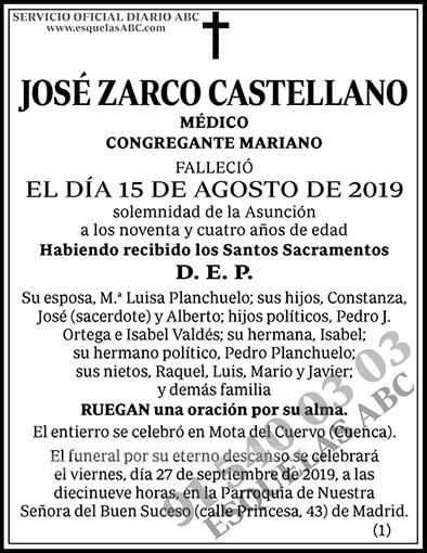 José Zarco Castellano