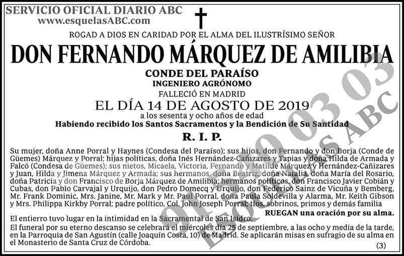 Fernando Márquez de Amilibia