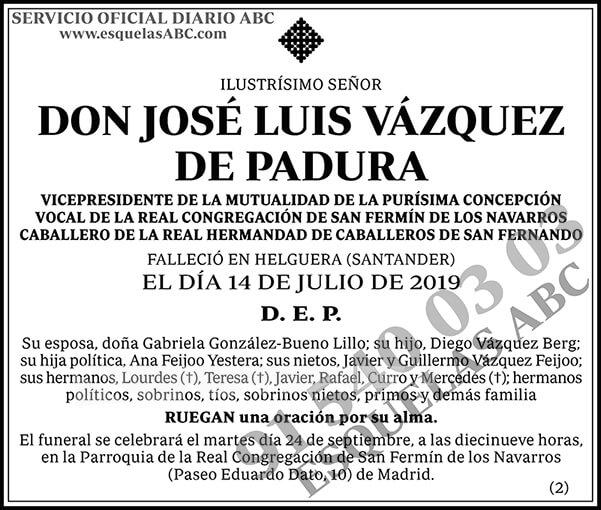 José Luis Vázquez de Padura