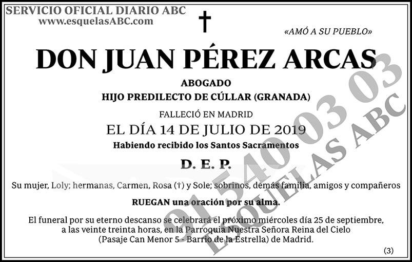 Juan Pérez Arcas