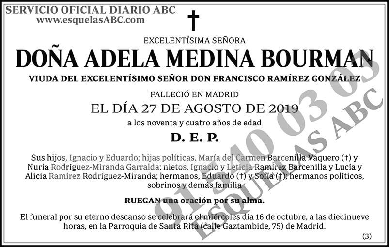 Adela Medina Bourman