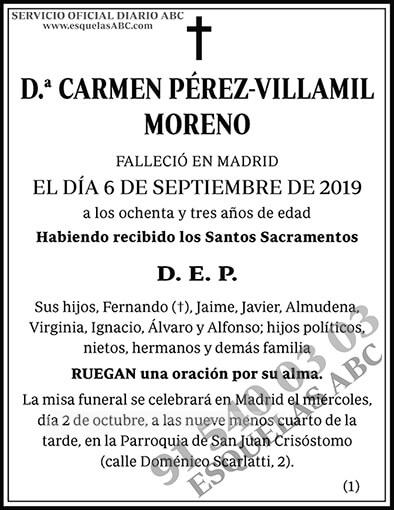 Carmen Pérez-Villamil Moreno