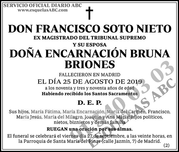 Francisco Soto Nieto