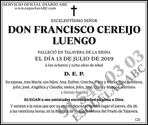 Francisco Cereijo Luengo