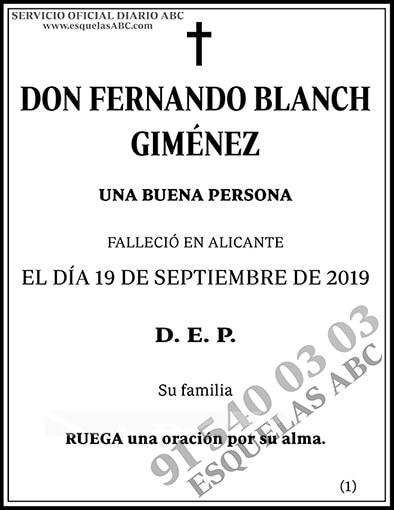 Fernando Blanch Giménez