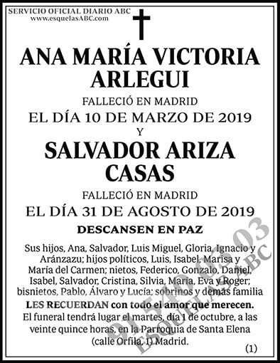 Ana María Victoria Arlegui