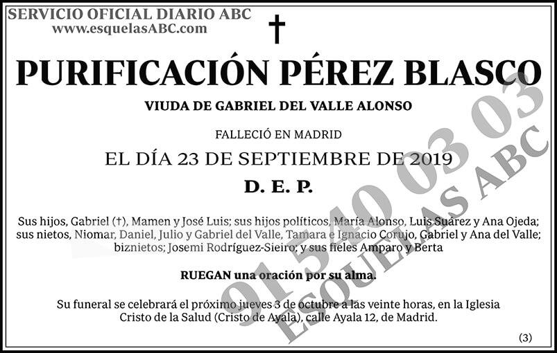 Purificación Pérez Blasco