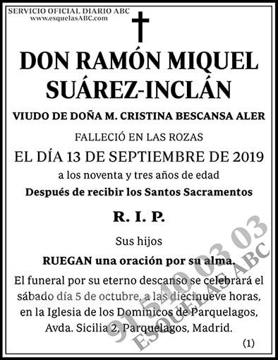 Ramón Miquel Suárez-Inclán