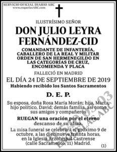 Julio Leyra Fernández-Cid