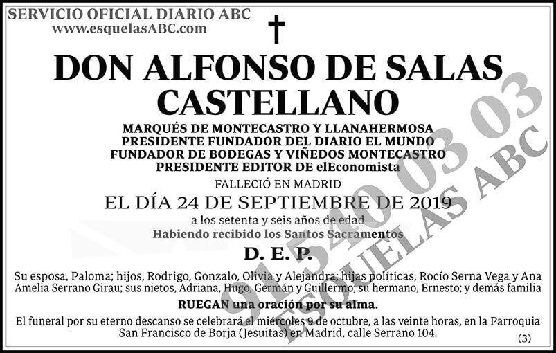 Alberto de Salas Castellano