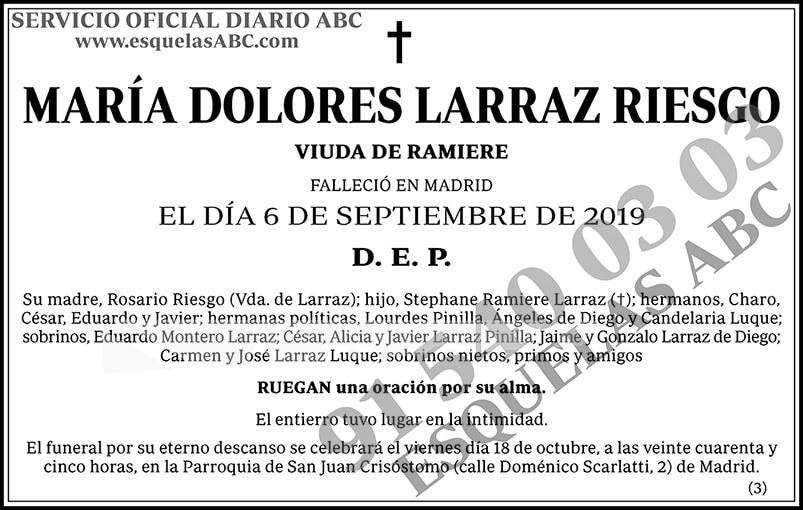 María Dolores Larraz Riesgo