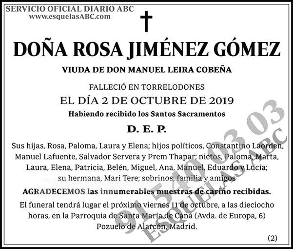 Rosa Jiménez Gómez