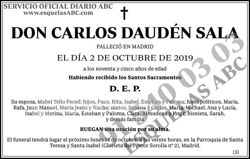 Carlos Daudén Sala