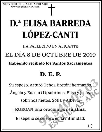 Elisa Barreda López-Canti
