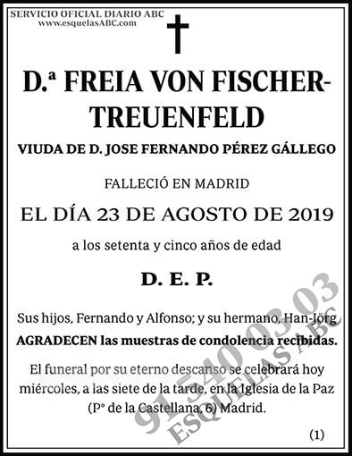 Freia Von Fischer-Treuenfeld