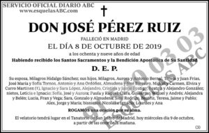 José Pérez Ruiz