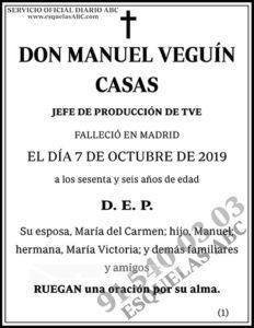 Manuel Veguín Casas