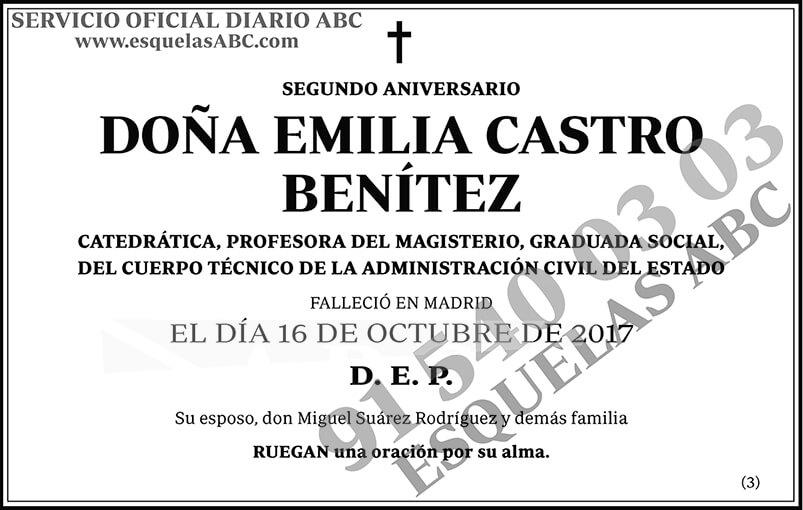 Emilia Castro Benítez