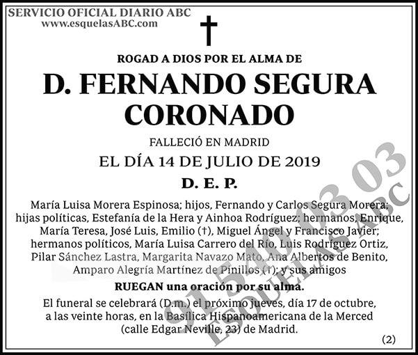 Fernando Segura Coronado