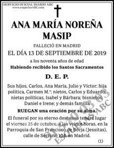 Ana María Noreña Masip