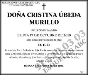 Cristina Úbeda Murillo