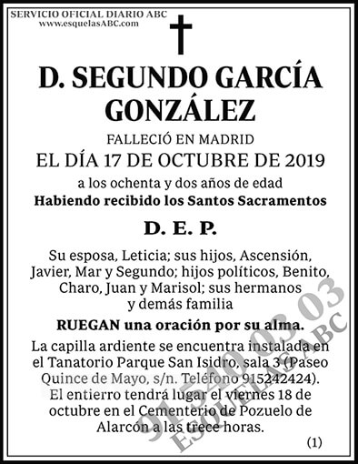 Segundo García González