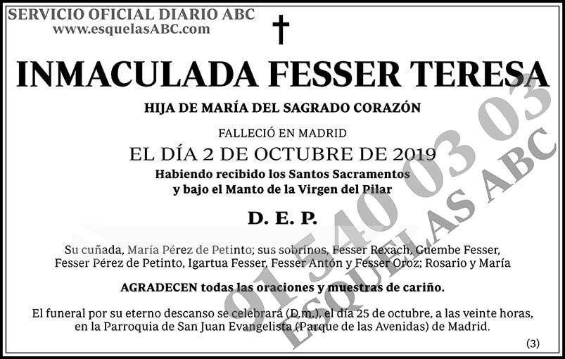 Inmaculada Fesser Teresa