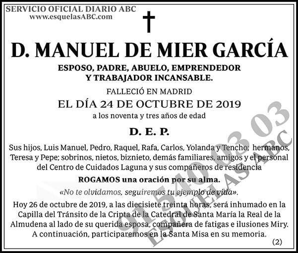 Manuel de Mier García