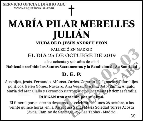 María Pilar Merelles Julián