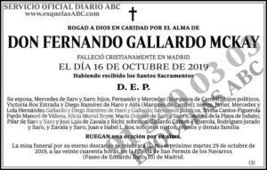 Fernando Gallardo Mckay