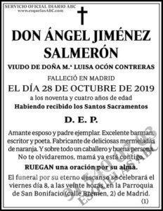 Ángel Jiménez Salmerón