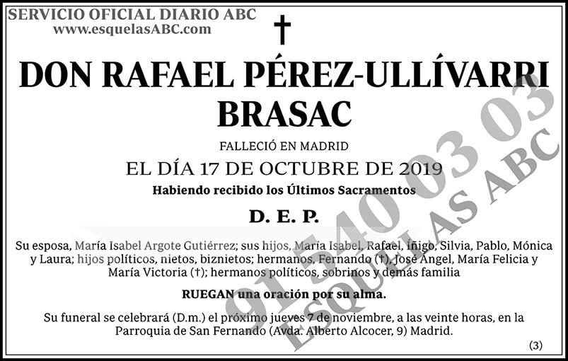 Rafael Pérez-Ullívarri Brasac