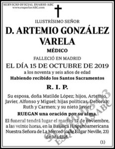Artemio González Varela