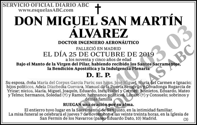 Miguel San Martín Álvarez