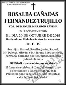 Rosalba Cañadas Fernández-Trujillo